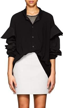 Yohji Yamamoto Women's Fine Cotton Bomber Jacket