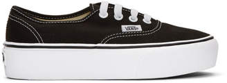 Vans Black UA Authentic Platform 2.0 Sneakers