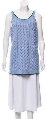 Miu Miu Wool Knit Top w/ Tags