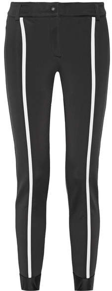Fendi - Roma Striped Ski Pants - Black