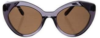 Salvatore Ferragamo Tinted Cat-Eye Sunglasses
