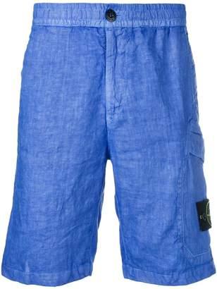 Stone Island knee length chino shorts