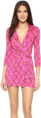 Diane von Furstenberg Celeste Romper $398 thestylecure.com