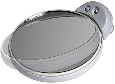 Zadro Lighted Double Sided Spot Mirror 5x