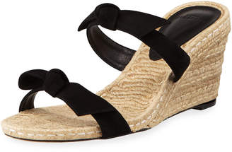 Alexandre Birman Clarita Braided Wedge Espadrilles