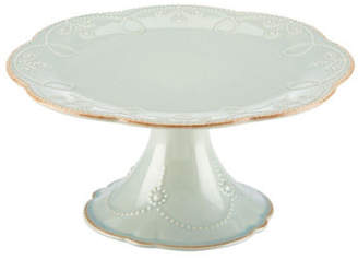 Lenox French Perle Medium Pedestal Cake Plate