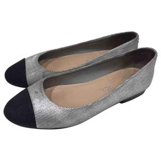 96e3ab9746b Chanel Silver Shoes For Women - ShopStyle UK