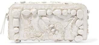 Maison Margiela (メゾン マルジェラ) - メゾン マルタン マルジェラ 装飾付きペイント キャンバス ショルダーバッグ