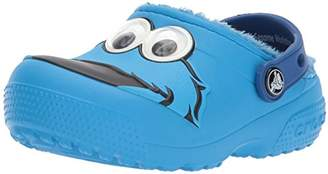 Crocs Kids' Crocsfunlab Lined Cookie Monster Clog