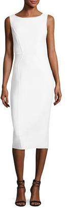 Michael Kors Scoop-Neck Sleeveless Sheath Dress