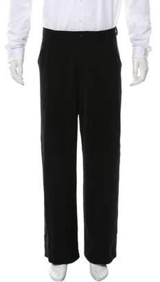 Armani Collezioni Flat Front Dress Pants