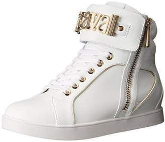 Just Cavalli Women's Nappa Leather Fashion Sneaker