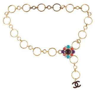 Chanel Gripoix Pearl Chain Belt