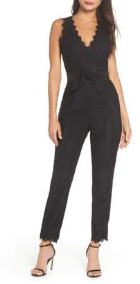 Harlyn Scallop Trim Lace Jumpsuit