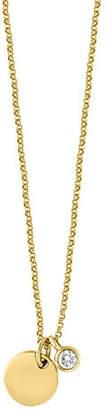 Effy D'Oro 14K Yelow Gold 0.1 TCW Diamond Necklace