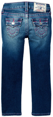 True Religion Natural Single End Skinny Jean (Toddler & Little Girls) $79 thestylecure.com