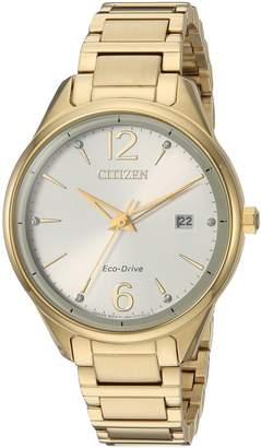 Citizen Women's FE6102-53A Eco-Drive Analog Display Japanese Quartz Watch