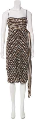 Missoni Sequin-Accented Strapless Dress
