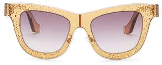 Balenciaga 52mm Squared Sunglasses