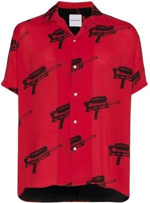 Buttoned Down Nasaseasons NASASEASONS water-blaster print shirt