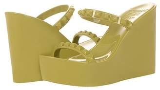 CARMEN SOL Tonino Studded Wedge Sandal