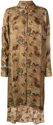 DAY Birger et Mikkelsen Uma Wang floral print shirt dress