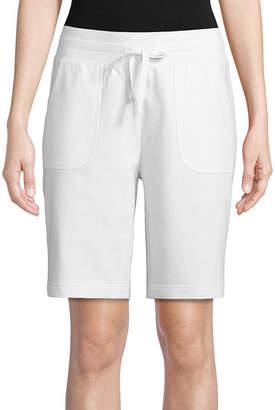 ST. JOHN'S BAY SJB ACTIVE Active Knit Pull-On Shorts