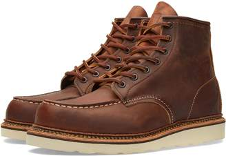"Red Wing Shoes 1907 Heritage Work 6"" Moc Toe Boot"