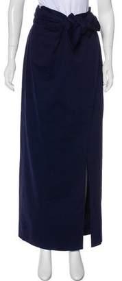 Guy Laroche Pleated Maxi Skirt