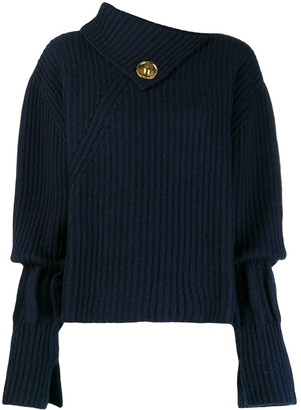 J.W.Anderson asymmetric ribbed jumper