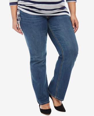 Jessica Simpson Maternity Boot-Cut Medium Wash Jeans