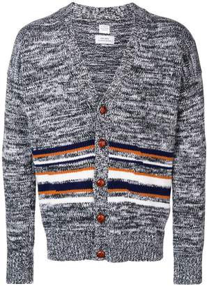 E. Tautz striped v-neck cardigan