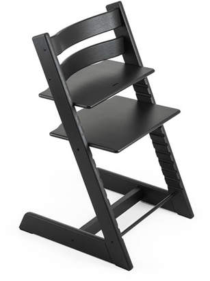 Stokke Tripp Trapp® Premium Oak Collection Chair, Black