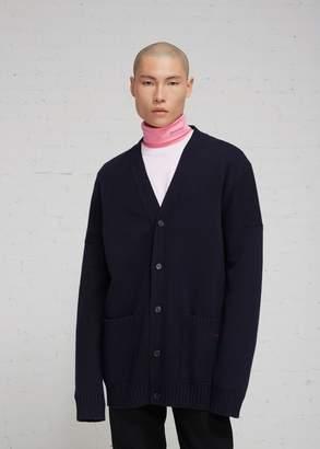 Calvin Klein Wool Cashmere Long Cardigan
