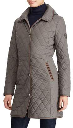 Lauren Ralph Lauren Quilted Hooded Jacket