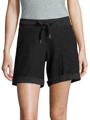 Calvin Klein Cotton Cuffed Shorts