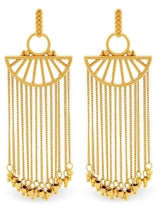 Rachel Zoe Harp Fringe Earrings
