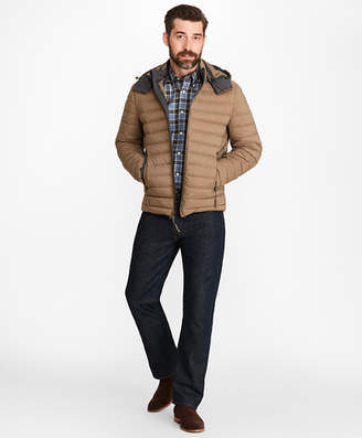 Brooks Brothers Down-Fill Puffer Jacket