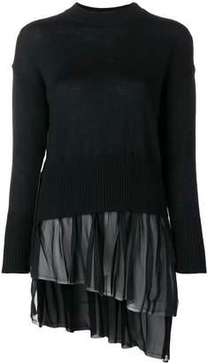 Gaelle Bonheur tulle knit jumper