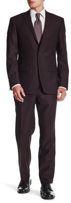 Spurr by Simon Spurr Notch Lapel Two Button Slim Fit Wool Suit $379.97 thestylecure.com