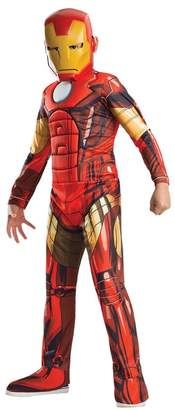 Iron Man Rubie's Costumes Deluxe Muscle Chest Costume (Big Boys)