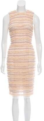 Givenchy 2016 Lace-Paneled Dress