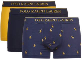 Polo Ralph Lauren Classic Logo Trunks (Pack of 3)