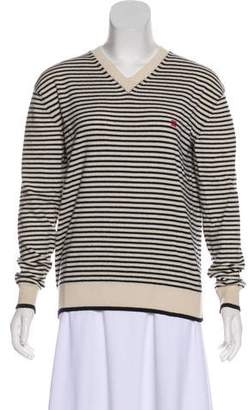 Celine Striped Cashmere Sweater