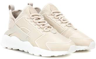 Nike Huarache Run Ultra SI leather sneakers