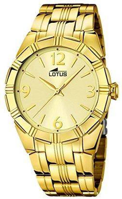 Lotus Golden Trendy Watch