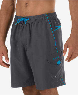 "Speedo Men Performance Marina 9"" Swim Trunks"