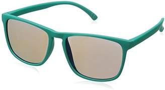 Foster Grant Women's Sge 70 Tur Mrf Wayfarer Sunglasses