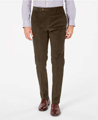Tommy Hilfiger Men's Modern-Fit Th Flex Stretch Corduroy Dress Pants