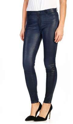 Women's Paige Hoxton High Waist Leather Pants $975 thestylecure.com